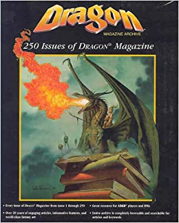 Dragon Magazine Archive : 250 Issues of Dragon Magazines and Dms