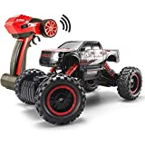 #3: 1/14 RC Crawler Remote Control 4x4 Off Road Cars for Adults FSTgo Radio Controlled Vehicles Kids Toy Monster Buggy Electric Trucks with LED Headlights
