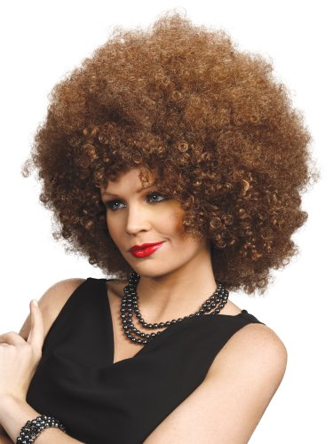 Enigma Wigs Women's Foxy, Mixed Brown, One -