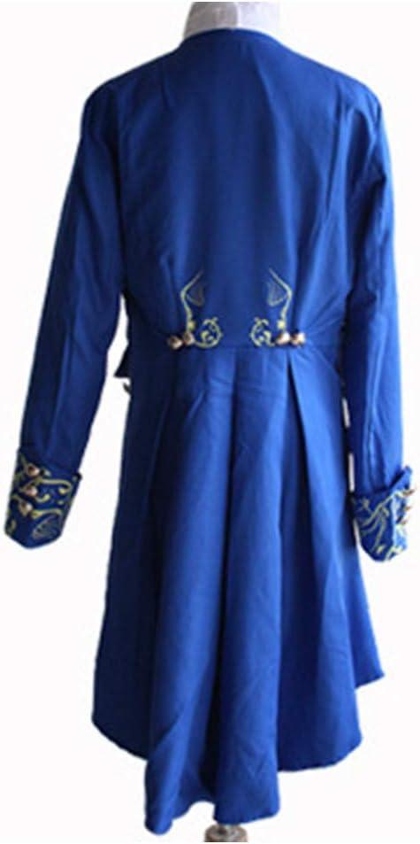 Style 1 S FINDPITAYA D/éguisement La Belle et la B/ête Prince Adam Adulte Cosplay Costume