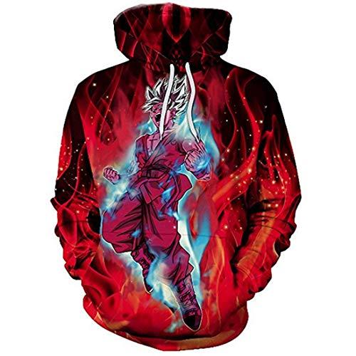 Hommes Sweat Capuche Ball couleur 3d Poche Pull Kangourou À Dragon Avec Imprimer Chenma 8 Hiver xw1dfRx