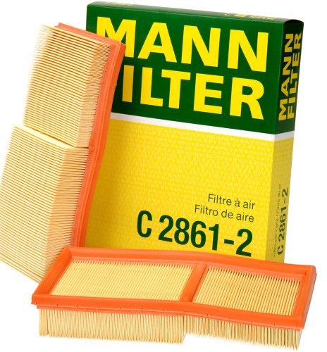 Mann-Filter 2861-2 Air Filter (Set of 2)