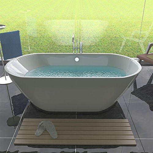 Diseño acrílico bañera/libre Stand de pie bañera/mueble de baño/1800 x 840 x 540: Amazon.es: Bricolaje y herramientas