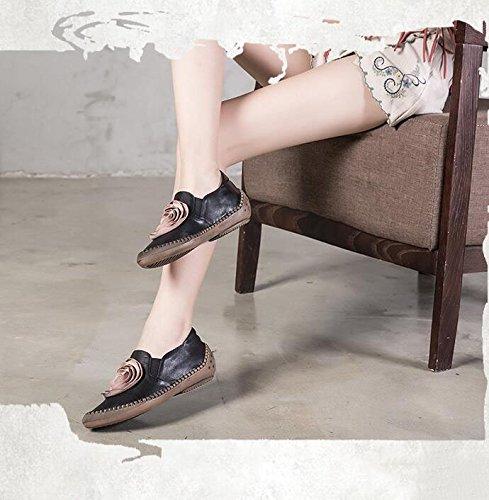 Grrong Vrouwen Platte Schoenen Zomer 2018 Nieuwe Koreaanse Wees Casual Schoenen Steeg Decoratieve Waterdichte Schoenen