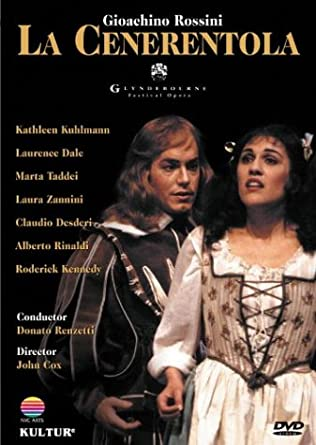 Amazon.com: Rossini - La Cenerentola / Renzetti, Kuhlmann, Taddei ...