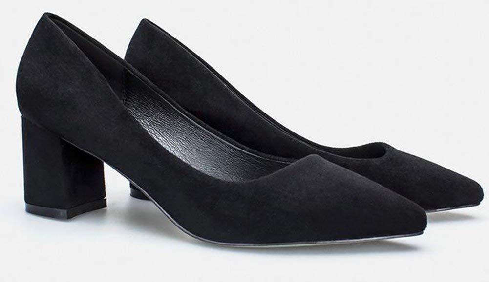 Oudan Hochhackigen Schuhe,Schwarz,35 (Farbe     Wie Gezeigt, Größe   Einheitsgröße) ace339