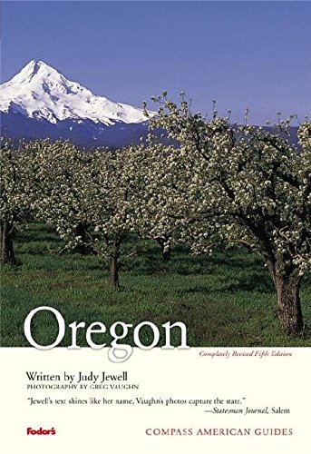 Compass American Guides  Oregon 5th Edition  Full Color Travel Guide Band 5