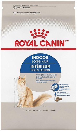Royal Canin Indoor Long Hair Dry Cat Food (6 lb)