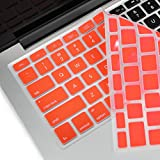 TopCase® RED Keyboard Silicone Cover Skin for Macbook 13