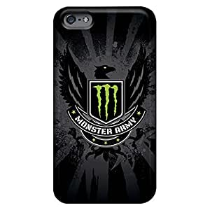 Fashion phone cases Hot Style Sanp On iphone 5C - monster army