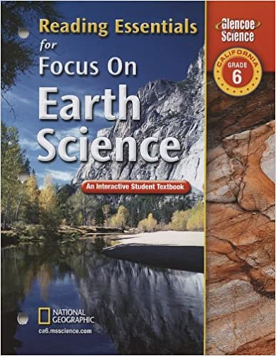 Focus on Earth Science, California, Grade 6: Reading