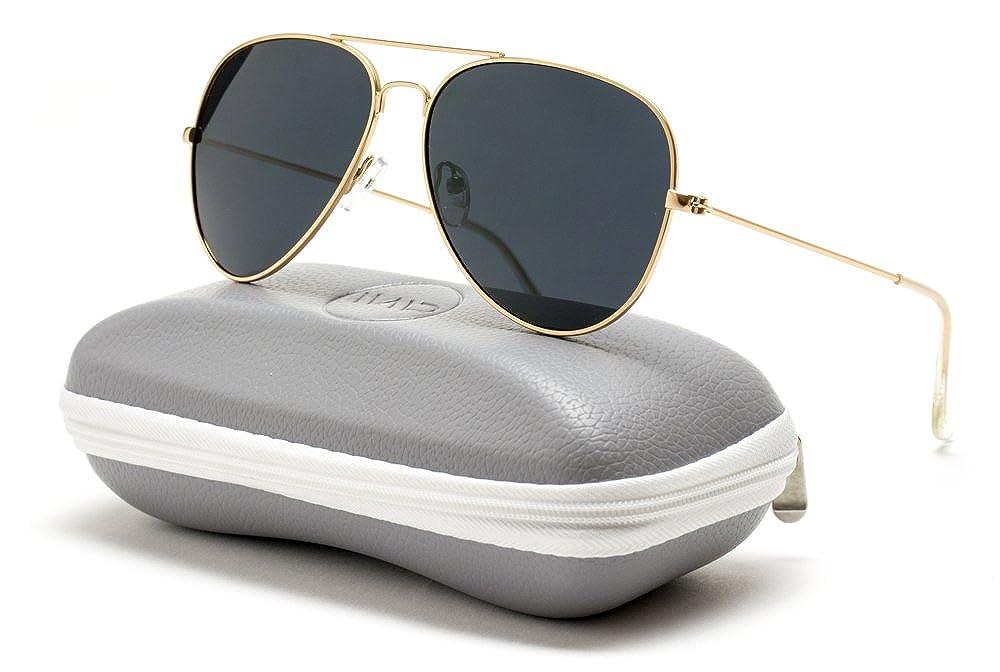 WearMe Pro Premium Classic Fashion Design Polarized Lens Aviator Sunglasses
