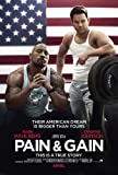 Pain and Gain (2013) 11 x 17 Movie Poster Mark Wahlberg, Rebel Wilson, Dwayne Johnson, Ed Harris, Style A