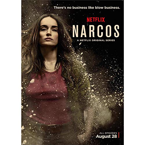 1 piece Narcos Home Furnishing decoration Kraft Movie Poster Drawing core Wall -