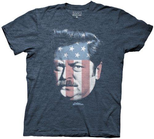 Parks-and-Rec-Ron-Swanson-Stars-Stripes-Mens-T-Shirt