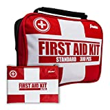 Product review for Franklin Sports Sideline 2-in-1 Team Sports First Aid Kit (300 Piece) + Bonus 30-Piece Mini First Aid Kit - Compact for Home, On The Field, Outdoors, Car, Camping, Workplace, Hiking - FDA Approved