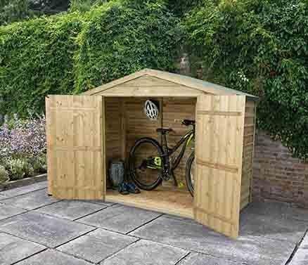 #Forest Bike Store Druck behandelt#