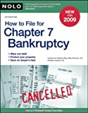 How to File for Chapter 7 Bankruptcy, Stephen Elias and Albin Renauer, 141330897X