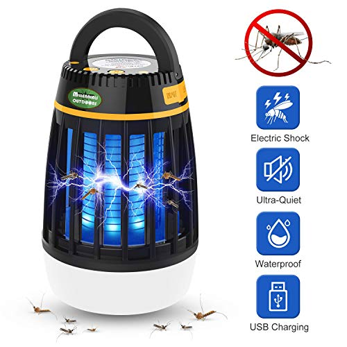 Millennials Outdoors Electronic Insect Killer, Mosquito Killer, Bug Zapper Outdoor and Indoor 3 in 1 Lamp Killer... (Black Flag 40 Watt Bug Zapper Manual)