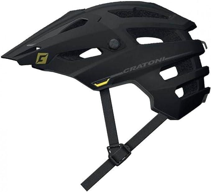 Cratoni Fahrrad Fahrradhelm AllSet MTB Gr S//M 54-58cm schwarz lime matt