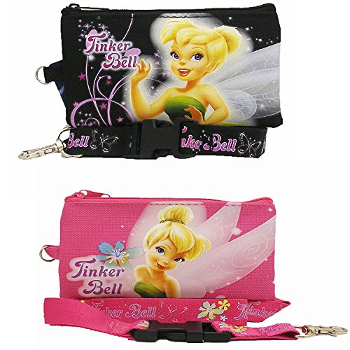 Tinkerbell Disney Lanyard with Detachable Coin Purse 2 ()