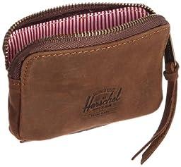 Herschel Supply Co. Oxford Leather Wallet, Brown Nubuck, One Size