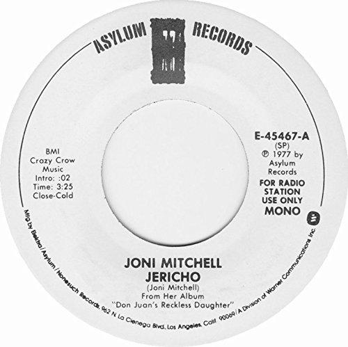 jericho / mono 45 rpm single (Jericho Joni Mitchell)