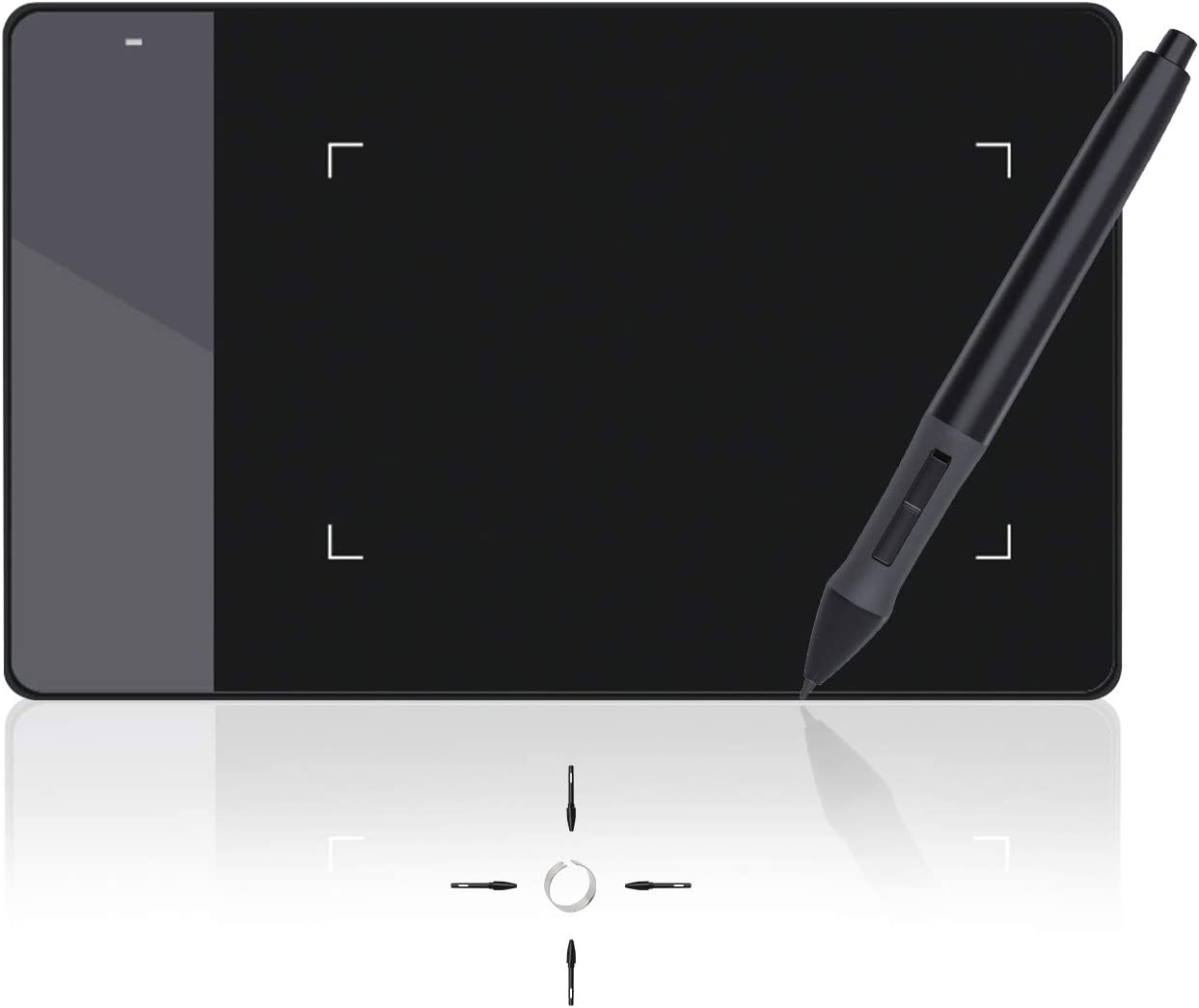 Huion 4 x 2.23 Inches OSU Tablet Graphics Drawing Pen Tablet - 420
