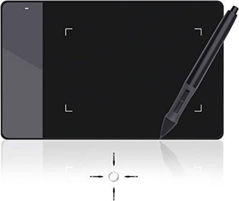 Amazon Com Huion 4 X 2 23 Inches Osu Tablet Graphics Drawing Pen Tablet 420 Computers Accessories