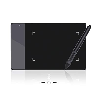 Huion 4 x 2.23 Inches OSU Tablet Graphics Drawing Pen Tablet