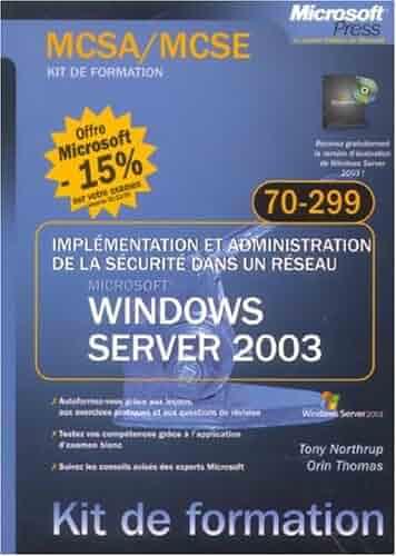 coffret mcsa mcse windows server