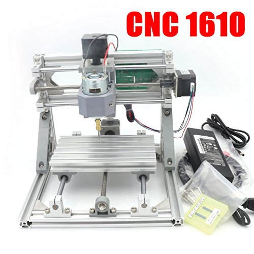 1610 GRBL control DIY mini CNC Carving Milling Engraving machine working area 160x100x45mm 3 Axis Pcb Milling machine,Wood Router, v2.4 110V-240V by RATTMMOTOR