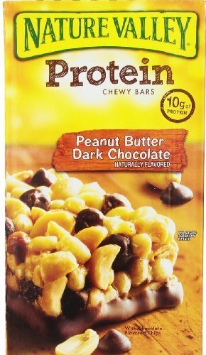 Nature Valley Protein Bars, Peanut Butter Dark Chocolate, 26 Count (Pack of 6)