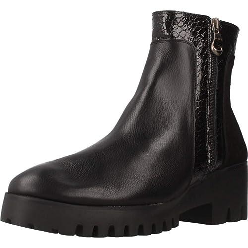 Botas para Mujer, Color Negro, Marca 24 HORAS, Modelo Botas para Mujer 24 HORAS 23853 Negro: Amazon.es: Zapatos y complementos