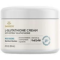 Swanson L-Glutathione Cream with Setria 2 fl Ounce (59 ml) Cream