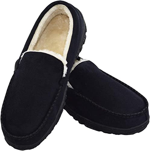 New Kids/' Classic PU House Slipper Rubber Bottom Warm Comfortable In//Outdoor