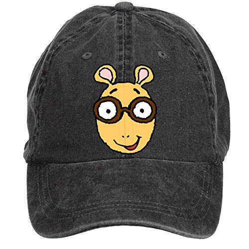 Tommery Unisex Arthur TV Series Hip Hop Baseball Caps