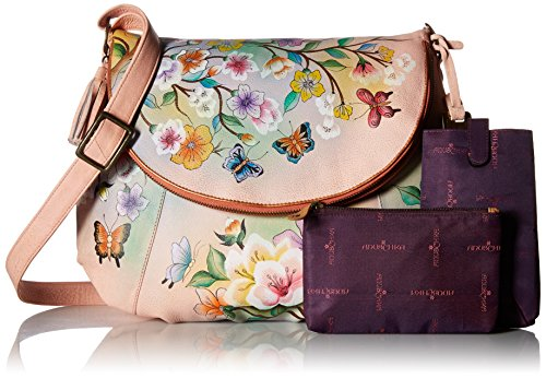 Convertible Large LL Japanese Over Anuschka Garden Flap StT6qddg