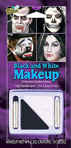 Black and White Makeup Costume