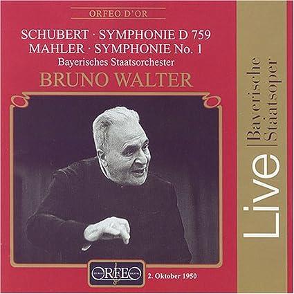 Symphony B Minor D / Symphony 1 in D Major