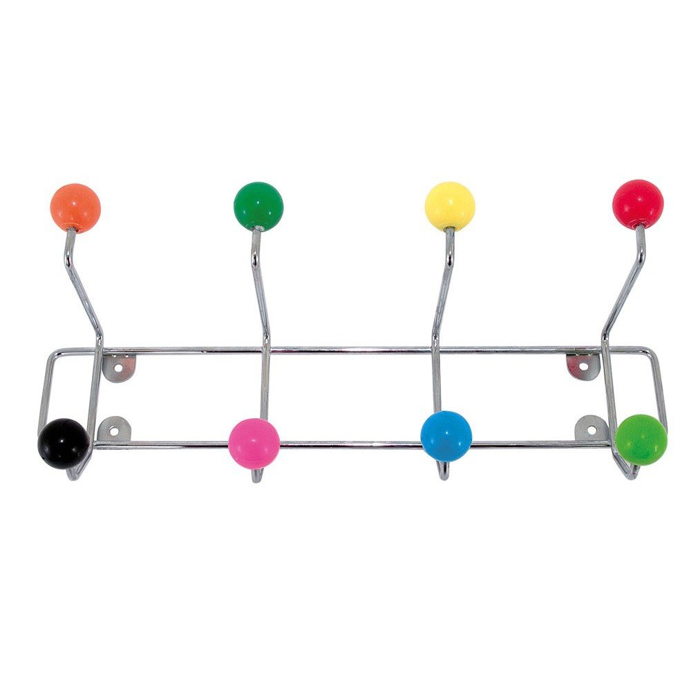 Hat Rack - Retro Style Multi Coloured Saturnus Hat Rack Present Time