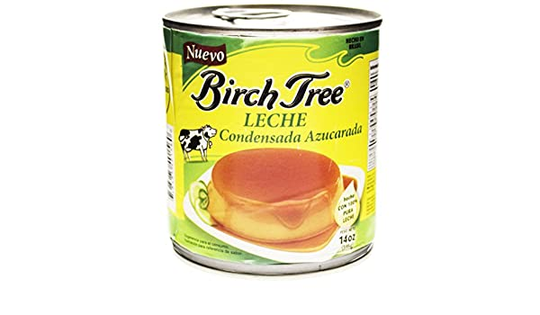 Amazon.com : Birch Tree Sweetened Condensed Milk, 14 Fluid Ounce : Grocery & Gourmet Food