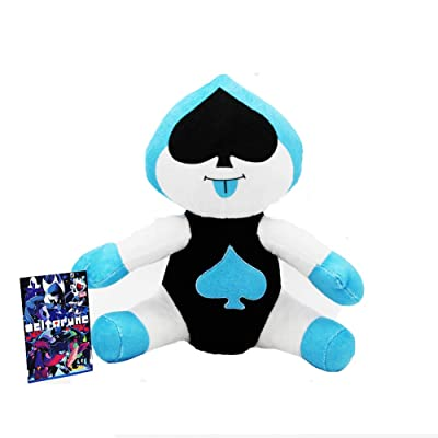 SYUSAMA Deltarune Lancer Plush Doll Soft Stuffed Toy 10 inch: Toys & Games