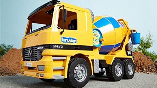 Bruder Toys Mercedes Benz Actros Cement Mixer Designed W/...