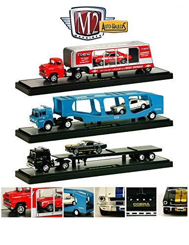 "Used, Auto Haulers Release 15 ""A"", 3 Trucks Set 1/64 by M2 for sale  Delivered anywhere in USA"