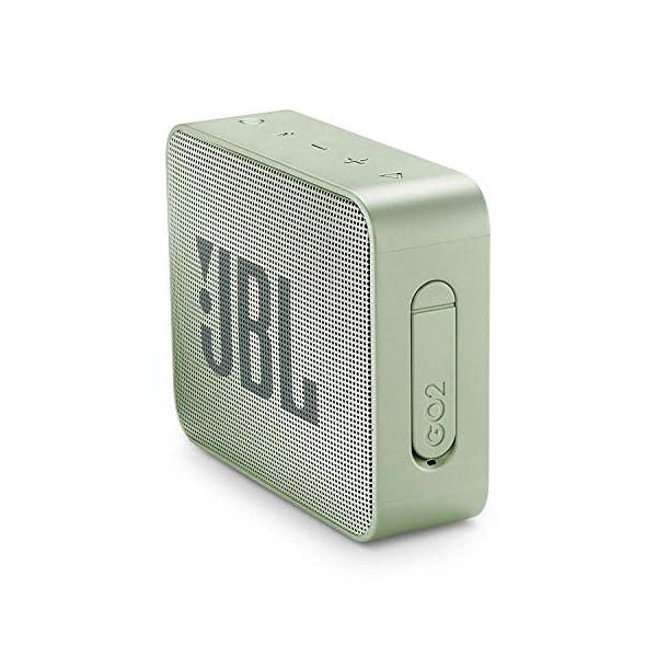 JBL Go 2 - Mini enceinte Bluetooth Portable - Étanche pour Piscine & Plage Ipx7 - Autonomie 5hrs - Qualité Audio JBL - Menthe 3