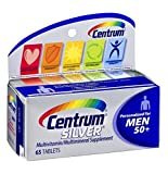 Centrum Silver Multivitamin/Multimineral Supplement Men 50+ by Centrum