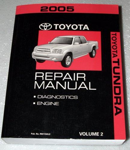 2005 Toyota Tundra Factory Repair Manual (GSK & UCK Series, Volume 2 - Engine)