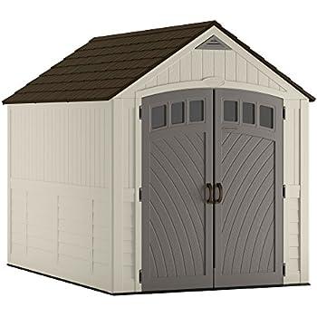 Amazon Com Suncast 7 X 7 Cascade Storage Shed
