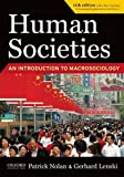 Human Societies 11th Edition Study Guide 9781594516696